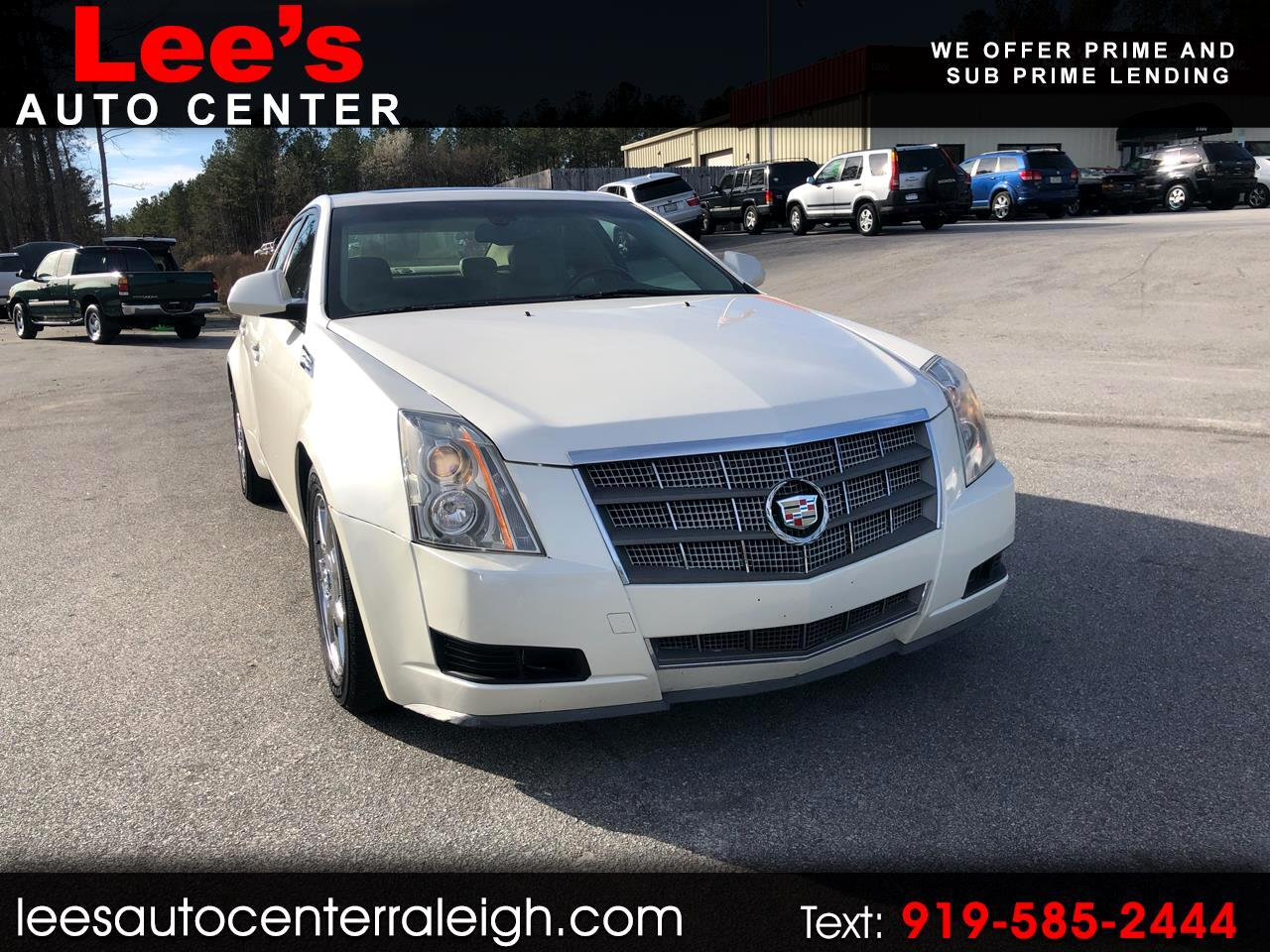 Used 2008 Cadillac Cts 4dr Sdn Awd W 1sa For Sale In