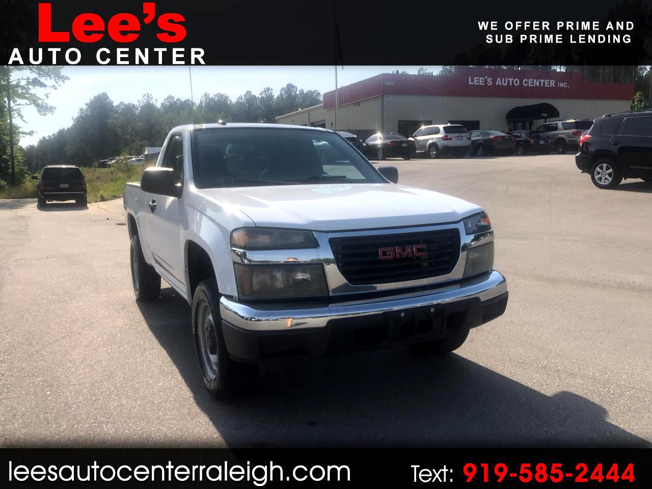 2009 GMC Canyon Work Truck 2WD