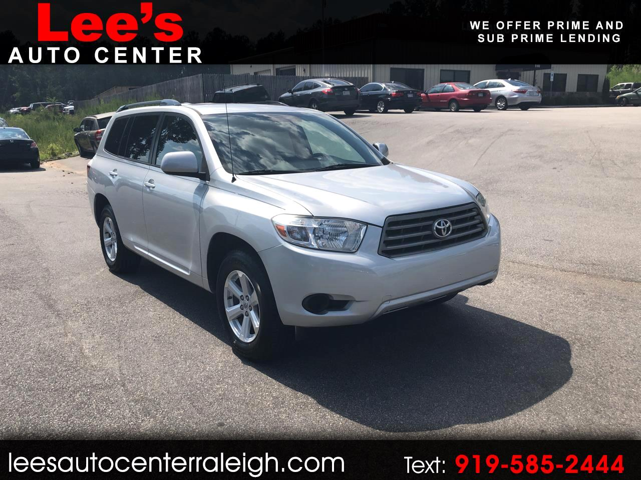 2010 Toyota Highlander FWD 4dr V6 Base (Natl)