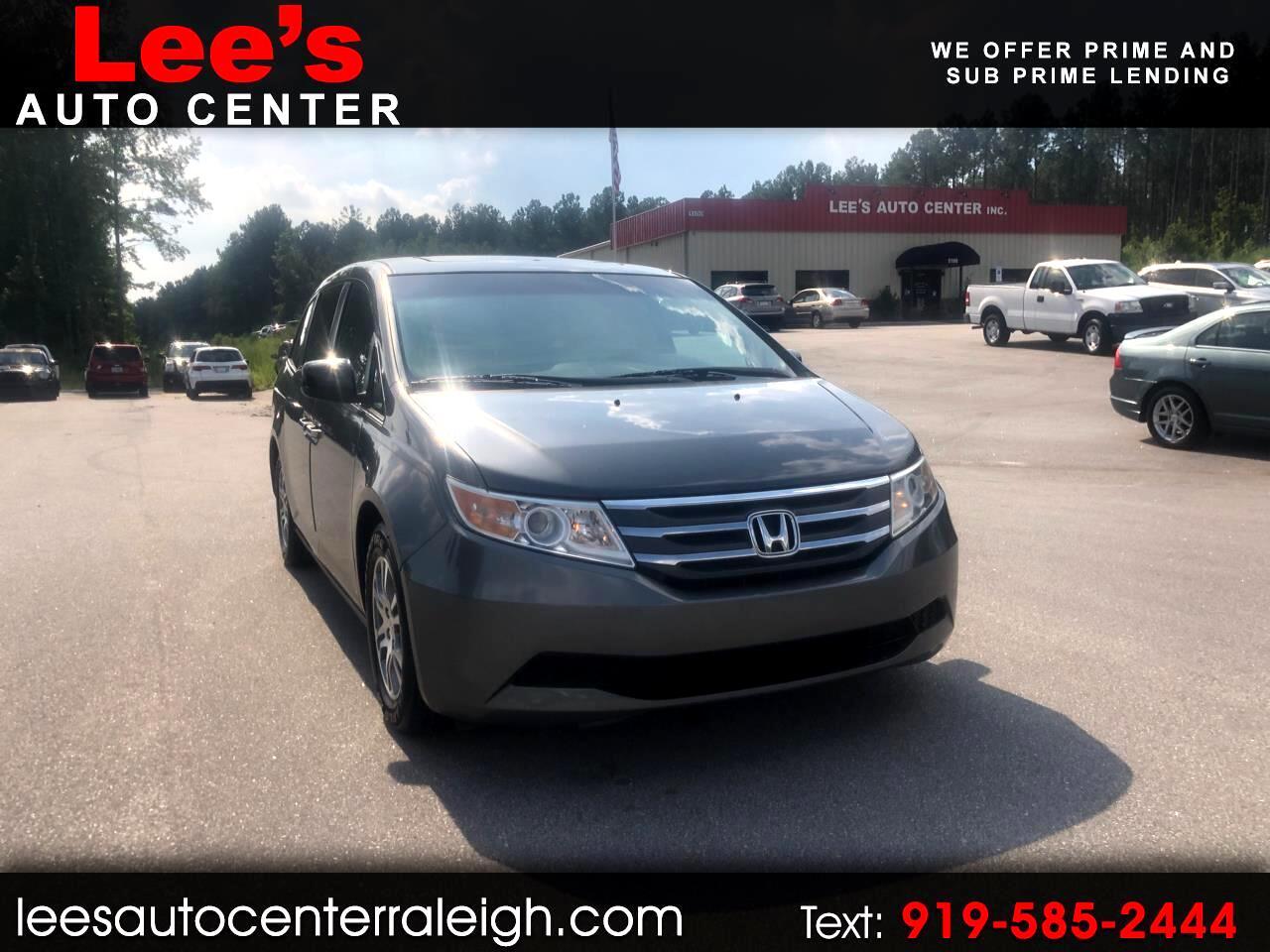 2012 Honda Odyssey 5dr EX-L w/DVD/Leather