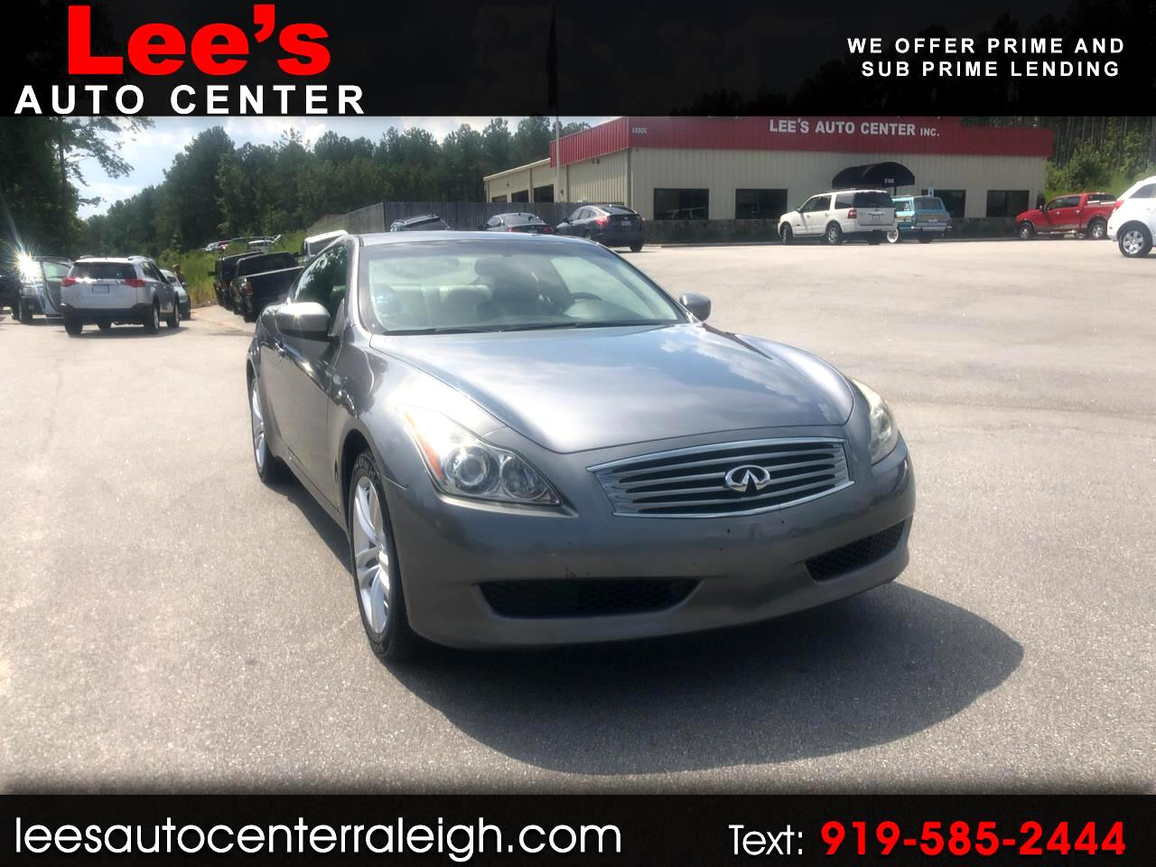 2010 Infiniti G37 Coupe AWD CARFAX 1 OWNER