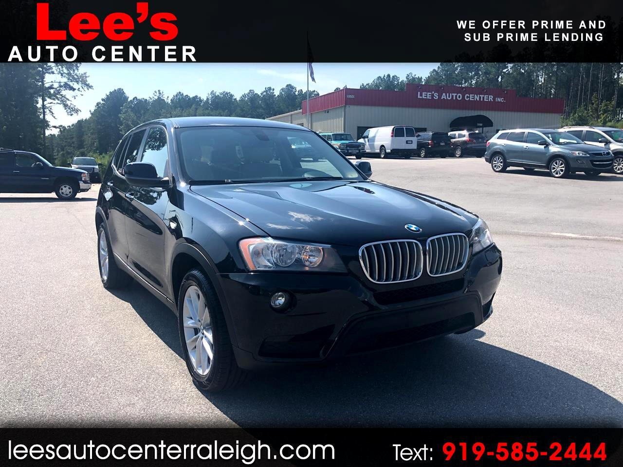 2014 BMW X3 AWD XDrive28I CARFAX 1 OWNER