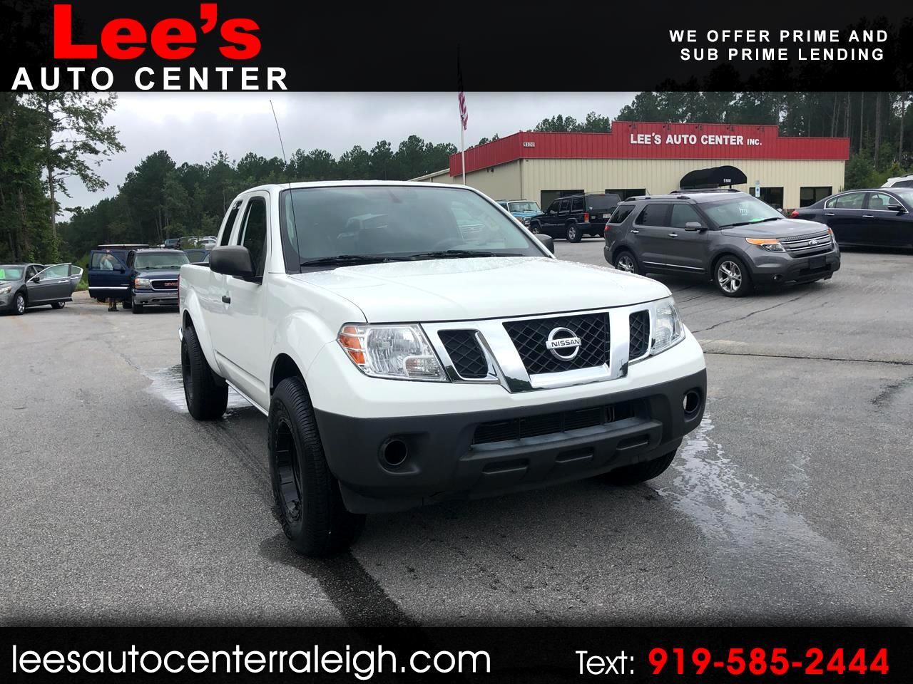 2014 Nissan Frontier 2WD King Cab I4 Manual S