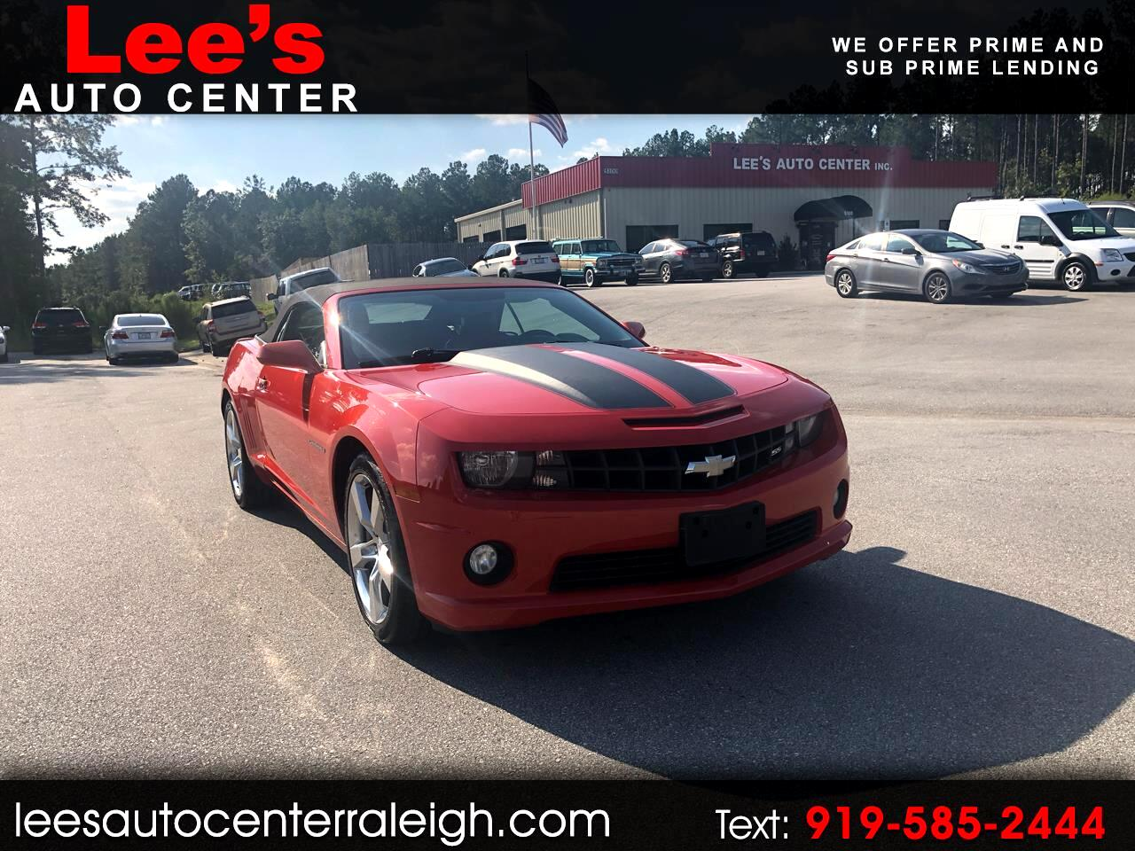 2012 Chevrolet Camaro SS Converitble 6 speed manual!! LS2 Power!!!