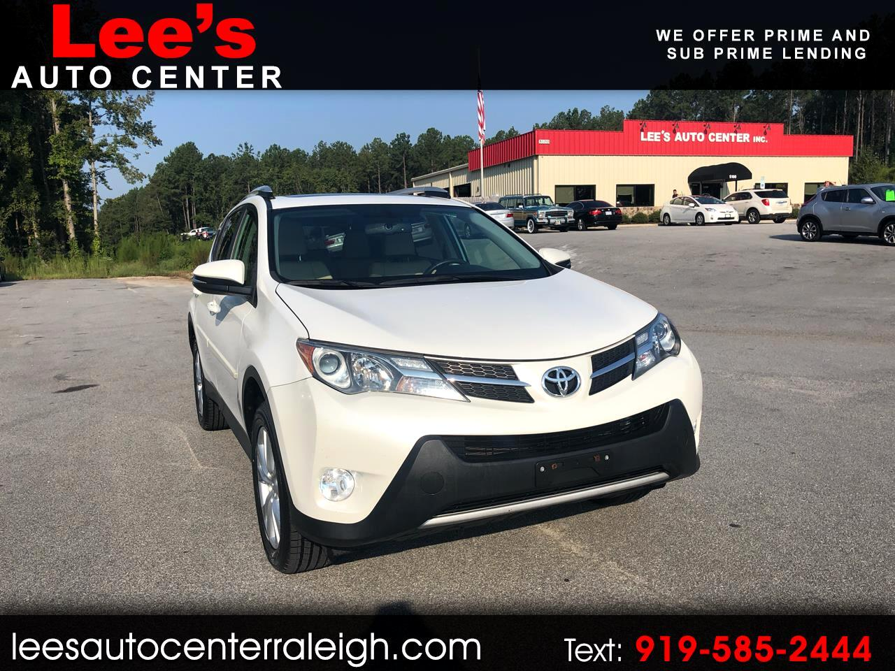 2013 Toyota RAV4 AWD LIMITED, CARFAX 1 OWNER!