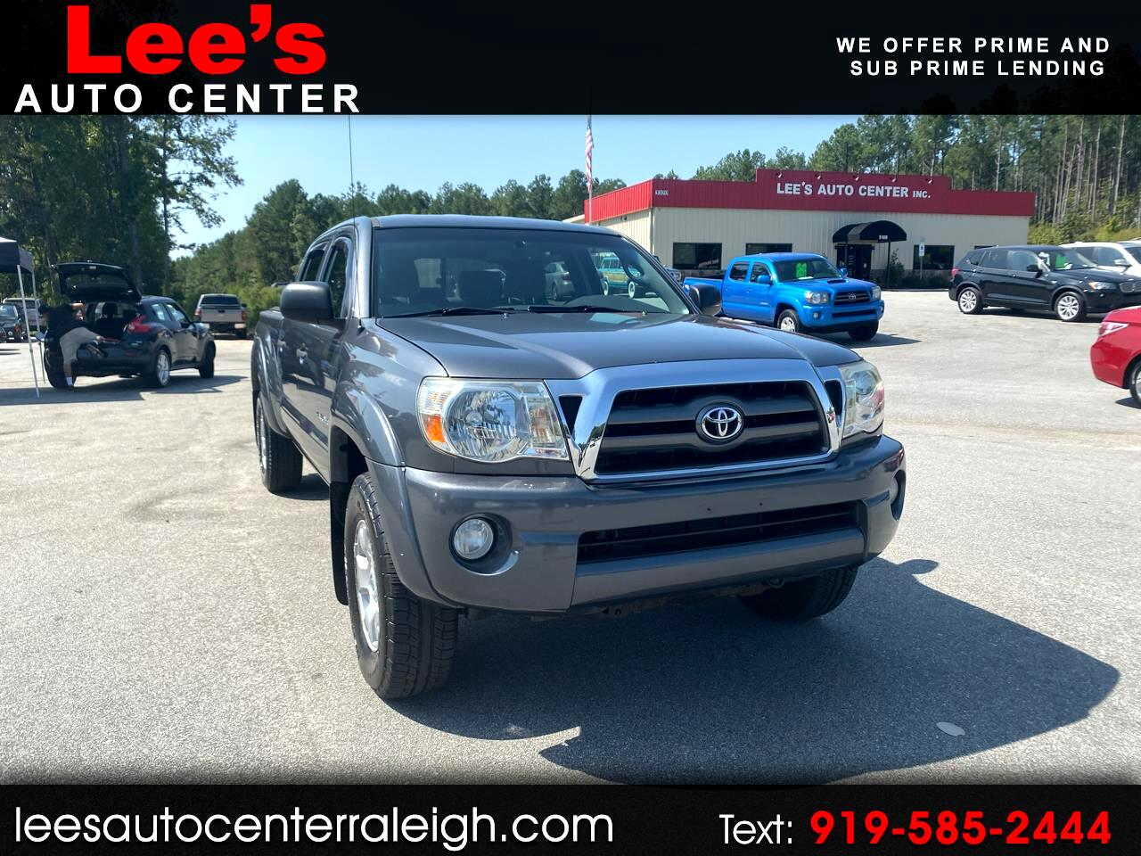 2009 Toyota Tacoma 4WD Double LB V6 AT (Natl)