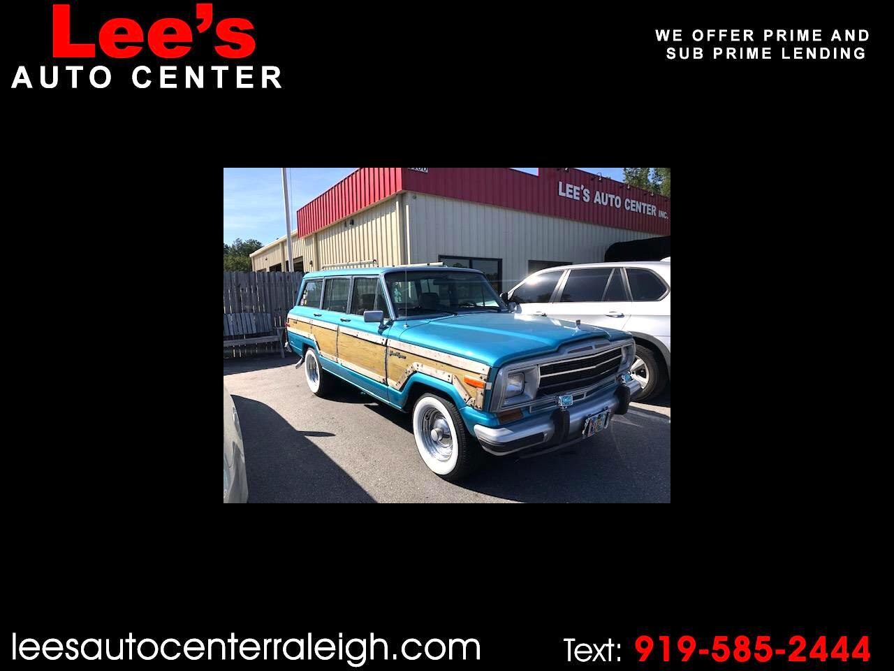1988 Jeep Grand Wagoneer 4dr Wagon