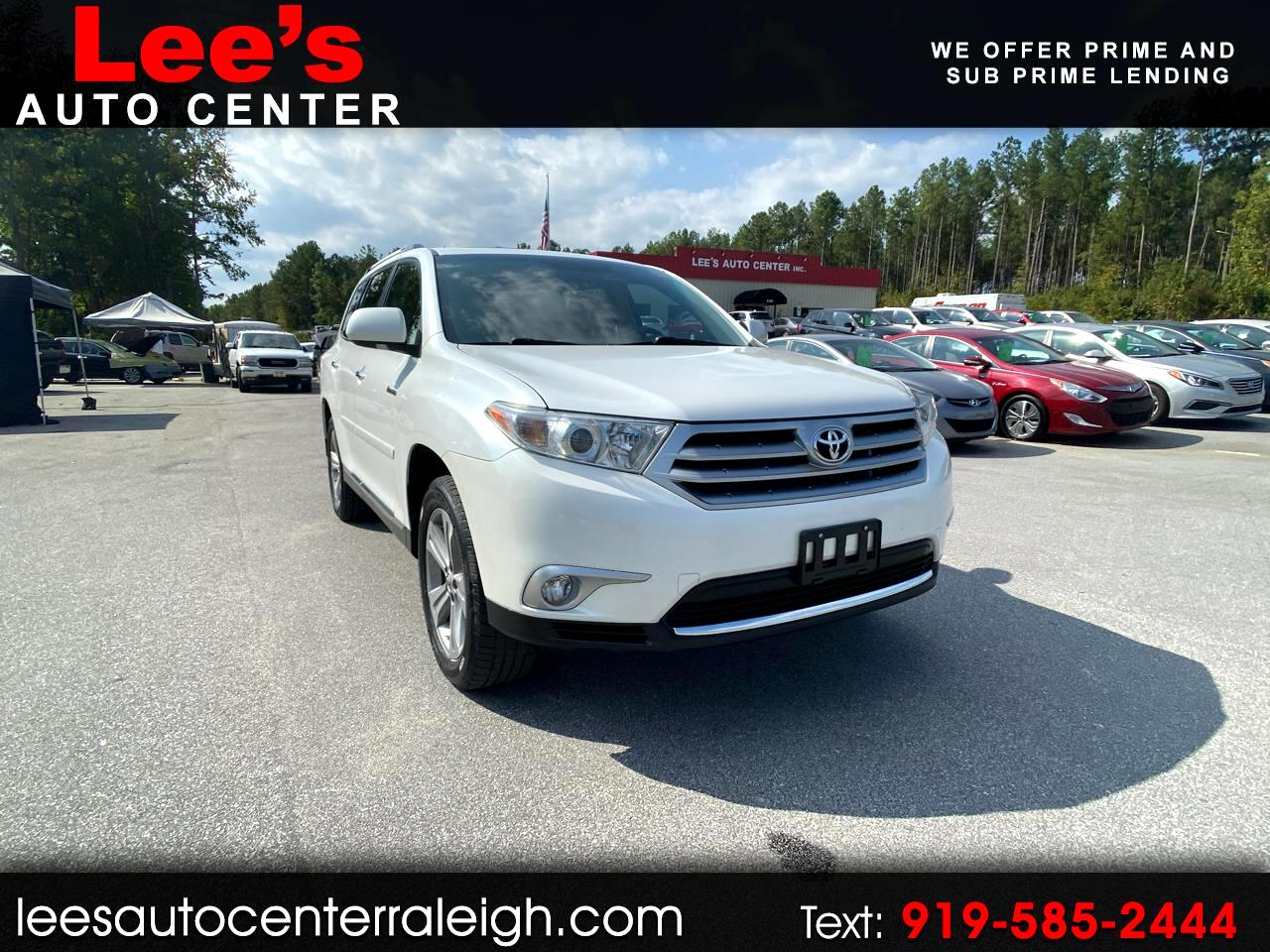 2012 Toyota Highlander 4WD 4dr V6  Limited (Natl)