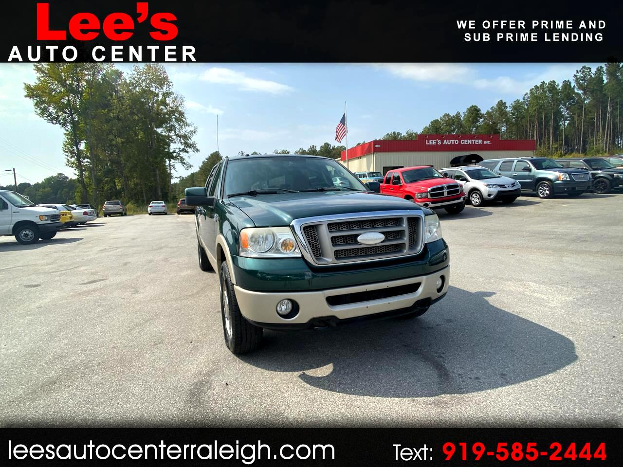 2007 Ford F-150 4WD CREW CAB KING RANCH