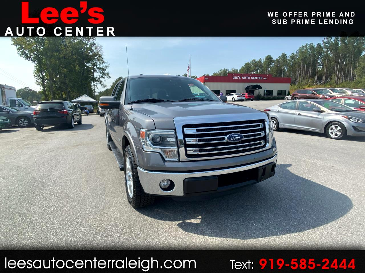 "2013 Ford F-150 SuperCrew 139"" Lariat"