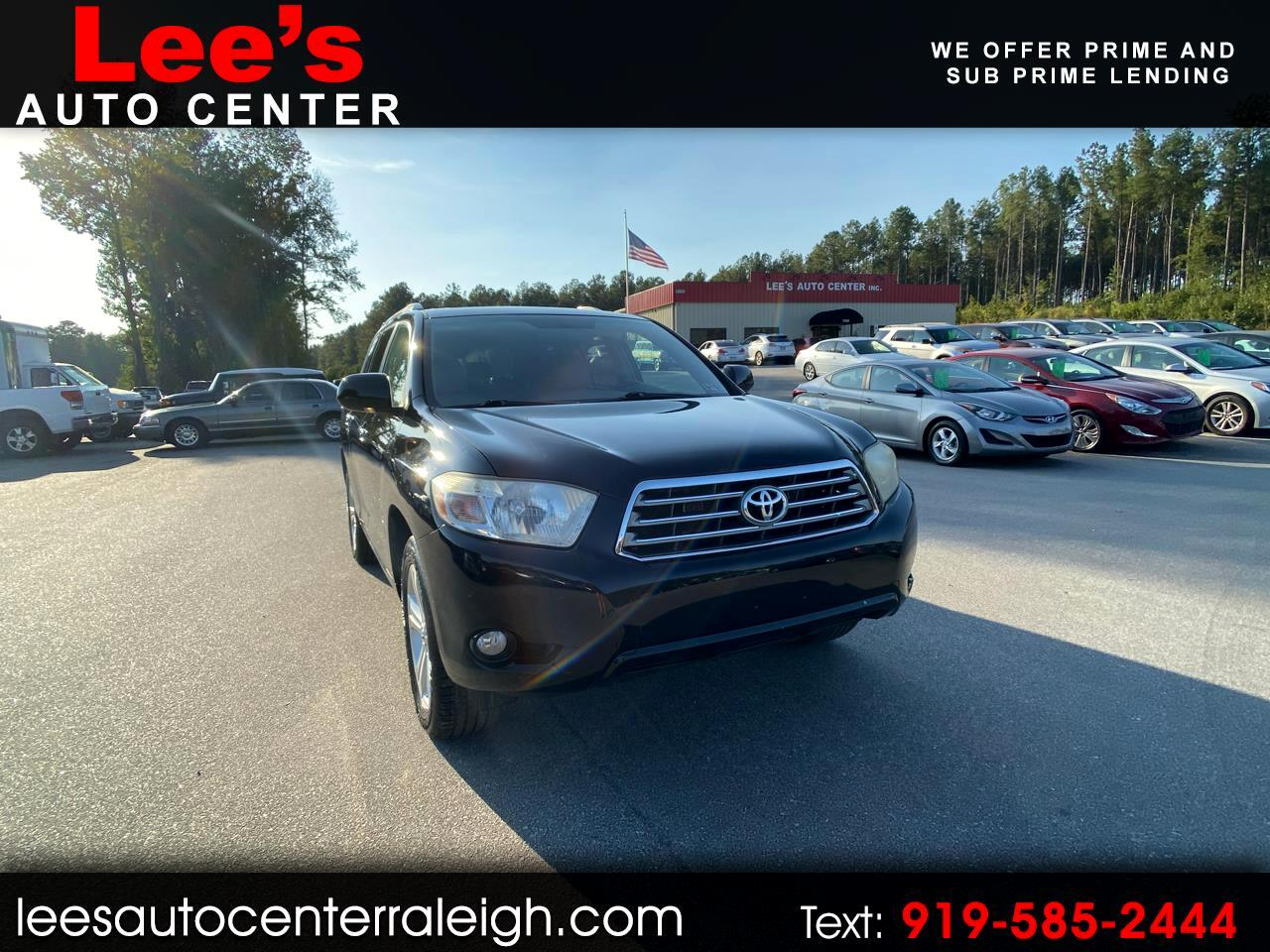 2008 Toyota Highlander For Sale >> Used 2008 Toyota Highlander 4wd 4dr Limited Natl For Sale