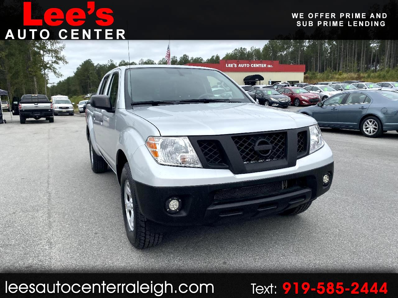 2013 Nissan Frontier 2WD Crew Cab SWB Manual S