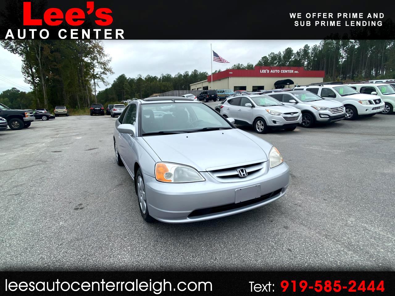 Honda Civic 2dr Cpe EX Auto 2001