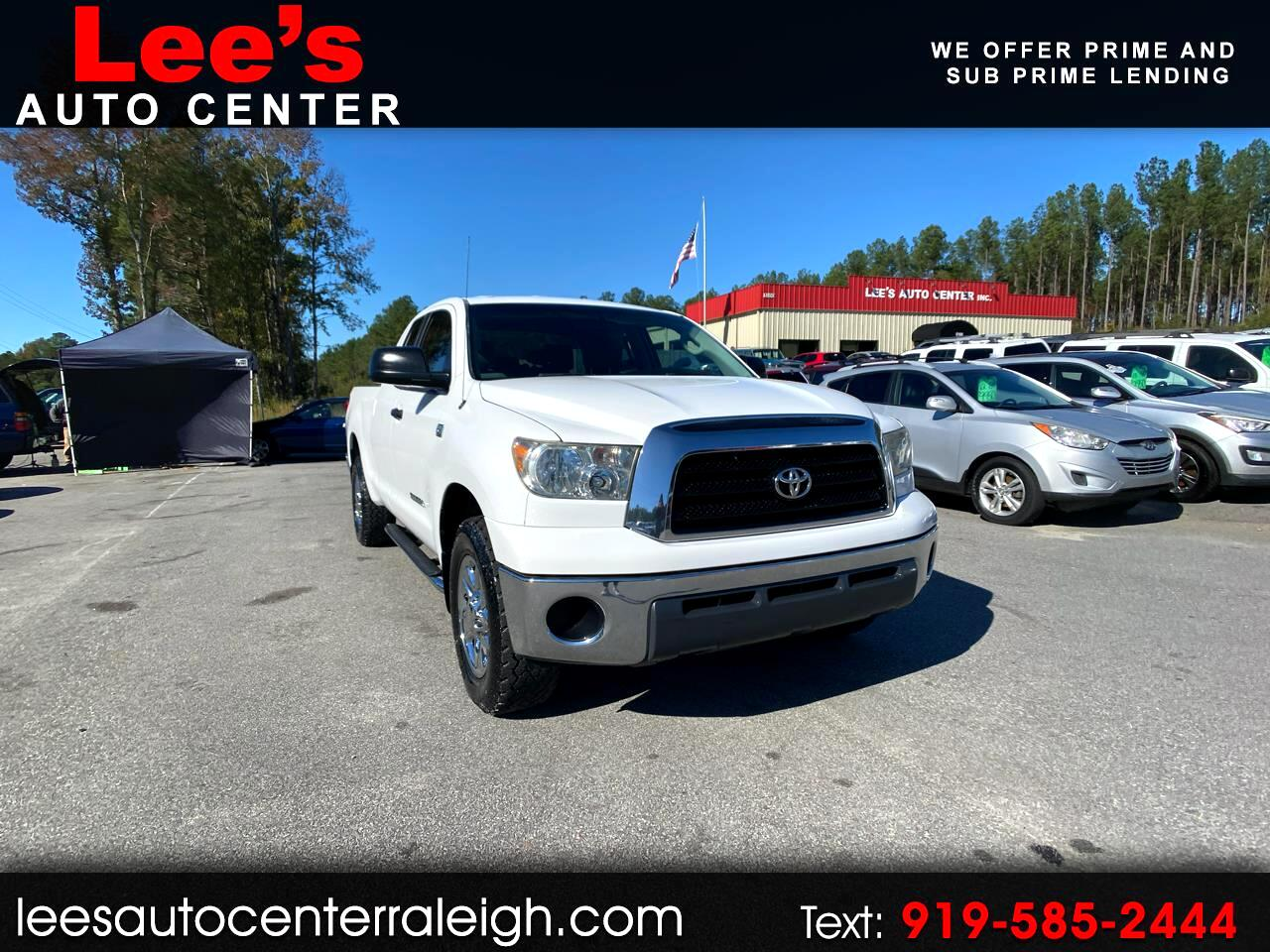 Toyota Tundra 2WD Truck Dbl 4.7L V8 5-Spd AT  (Natl) 2009