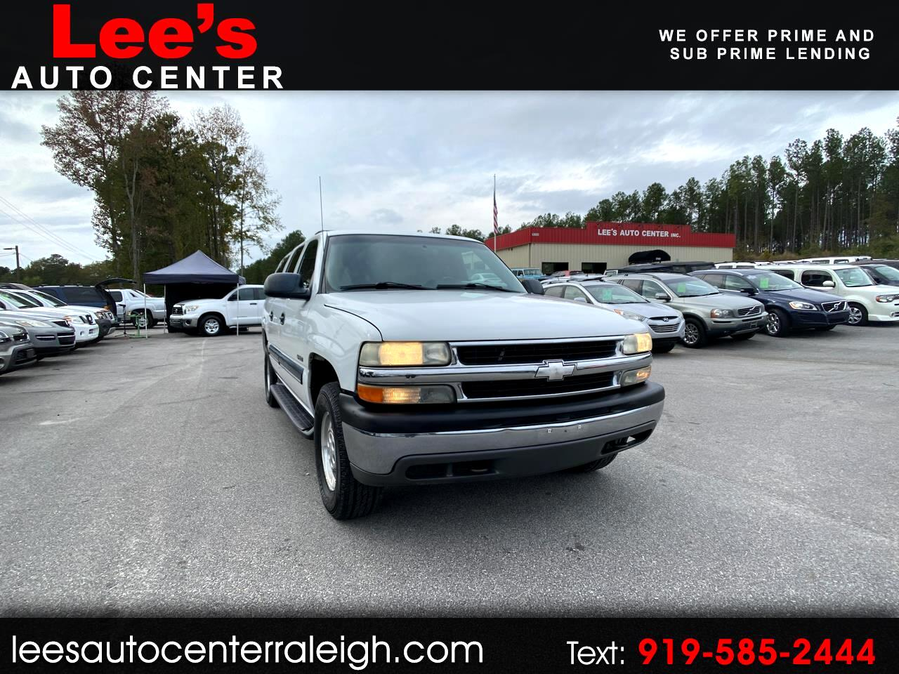 2001 Chevrolet Suburban 4dr 1500 LS