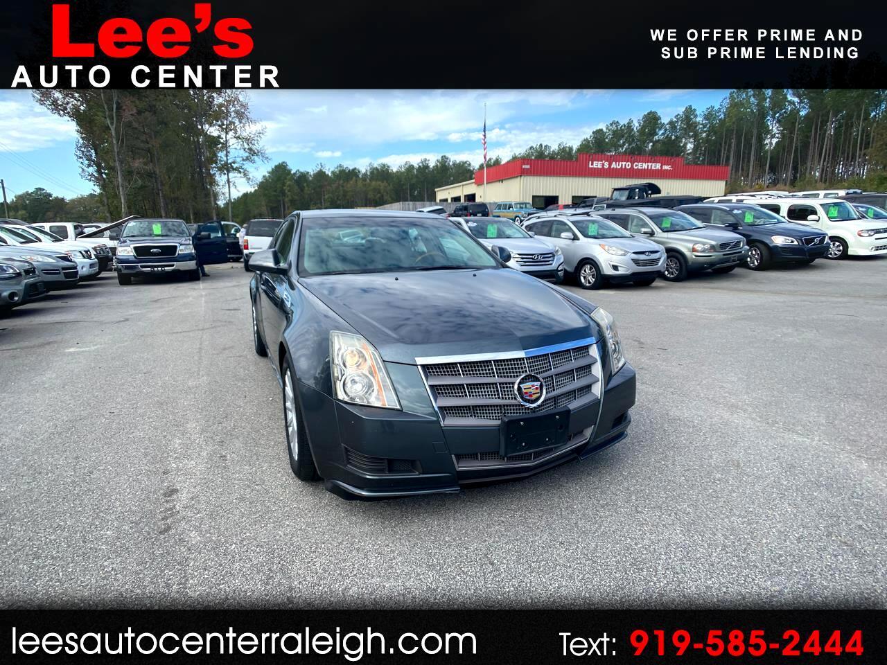 2010 Cadillac CTS Sedan 4dr Sdn 3.0L Luxury AWD