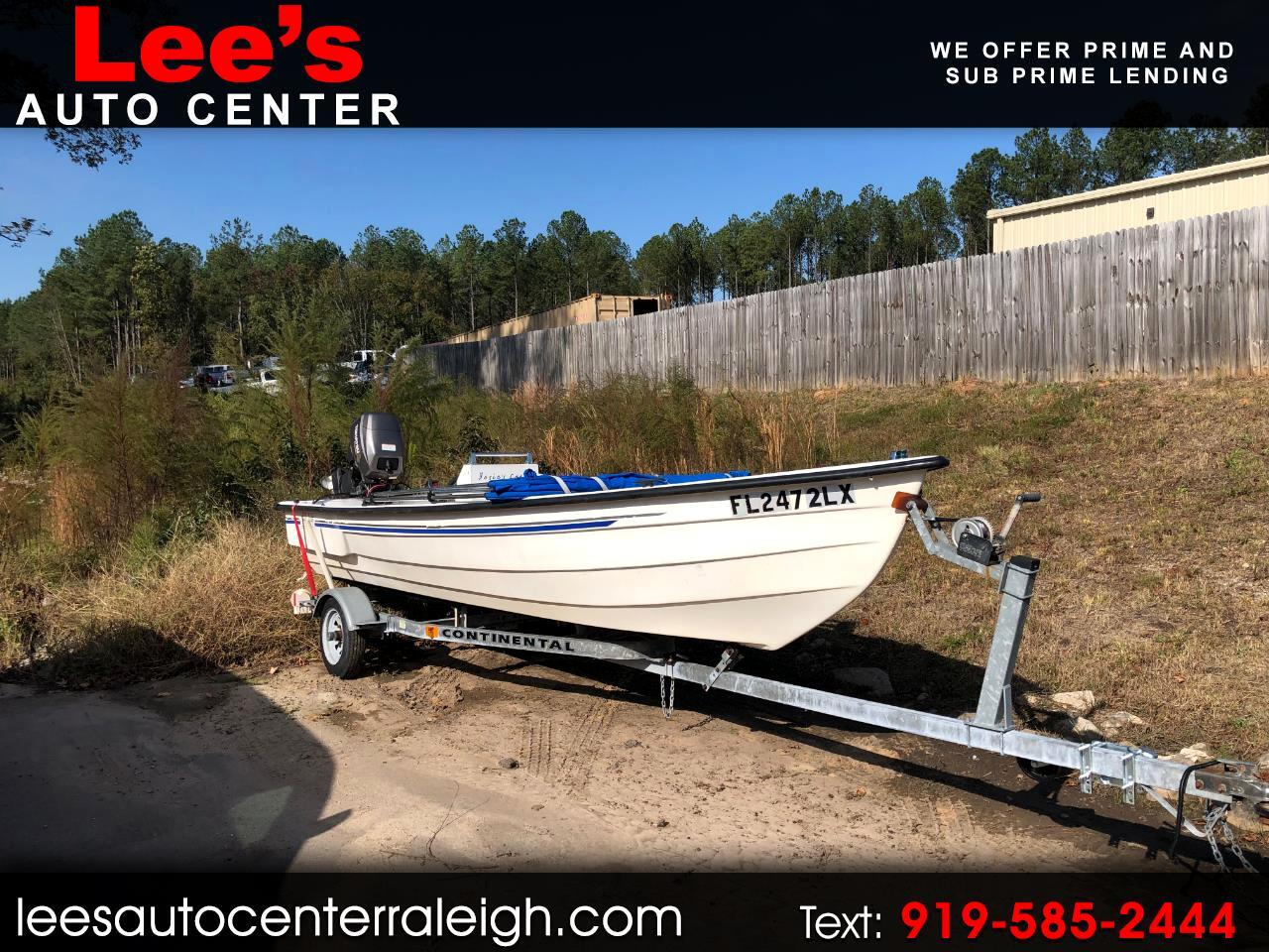 2003 Gulf Stream Gulf Breeze Sport GULF CRAFT SKIFF W/ 4 STROKE & TRAILER