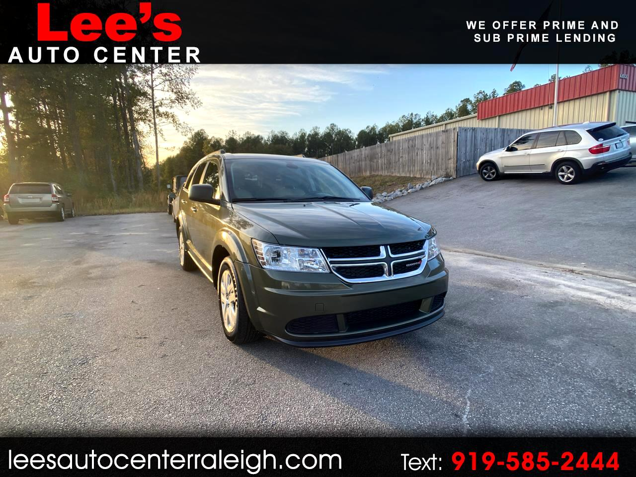 2018 Dodge Journey CARFAX 1 OWNER