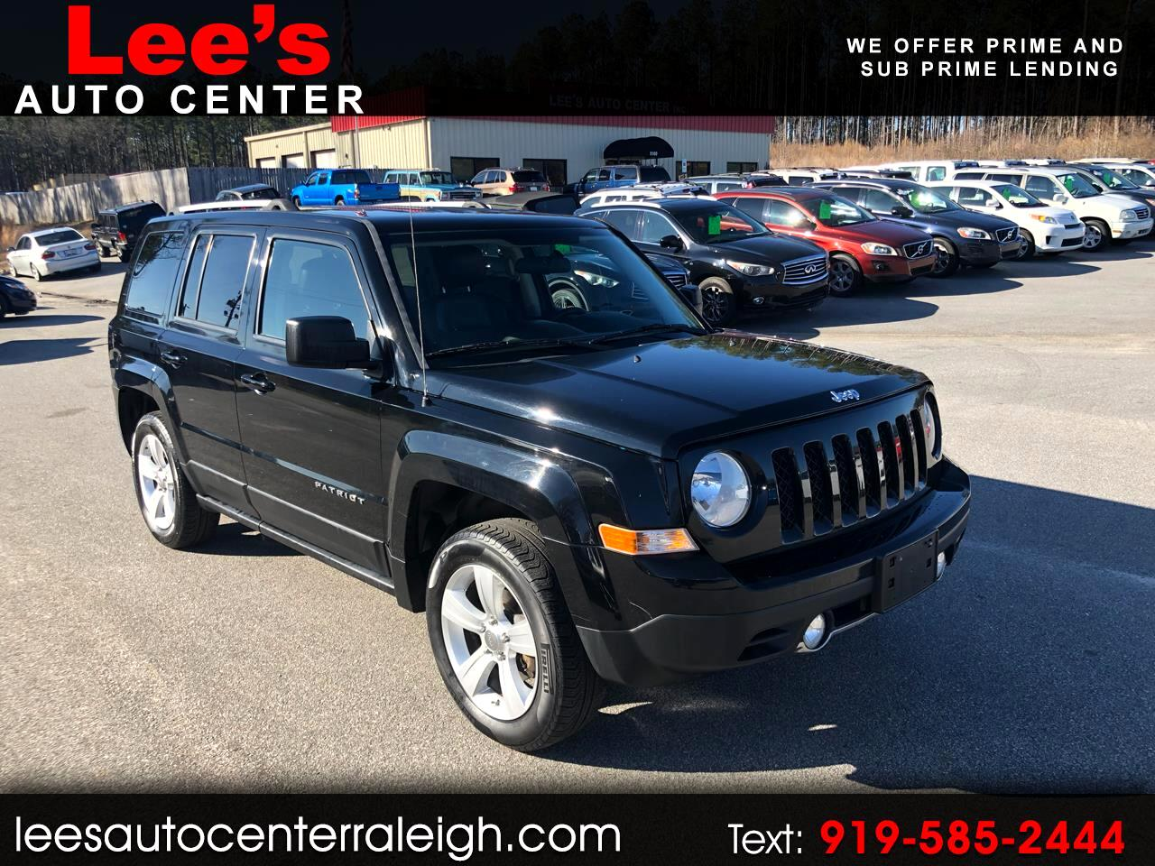 Jeep Patriot 4WD 4dr Limited 2012