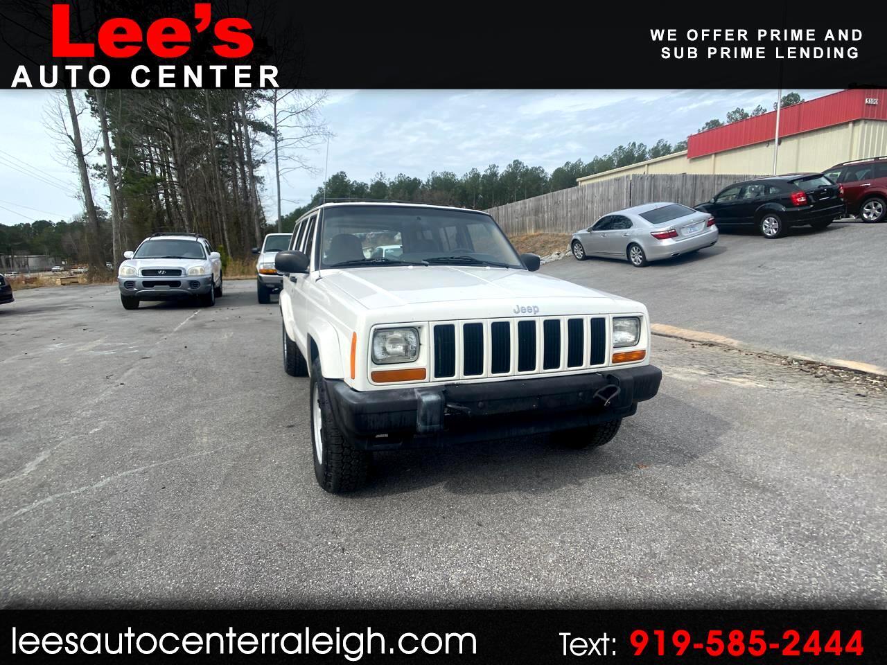 Jeep Cherokee 4dr Sport 2001