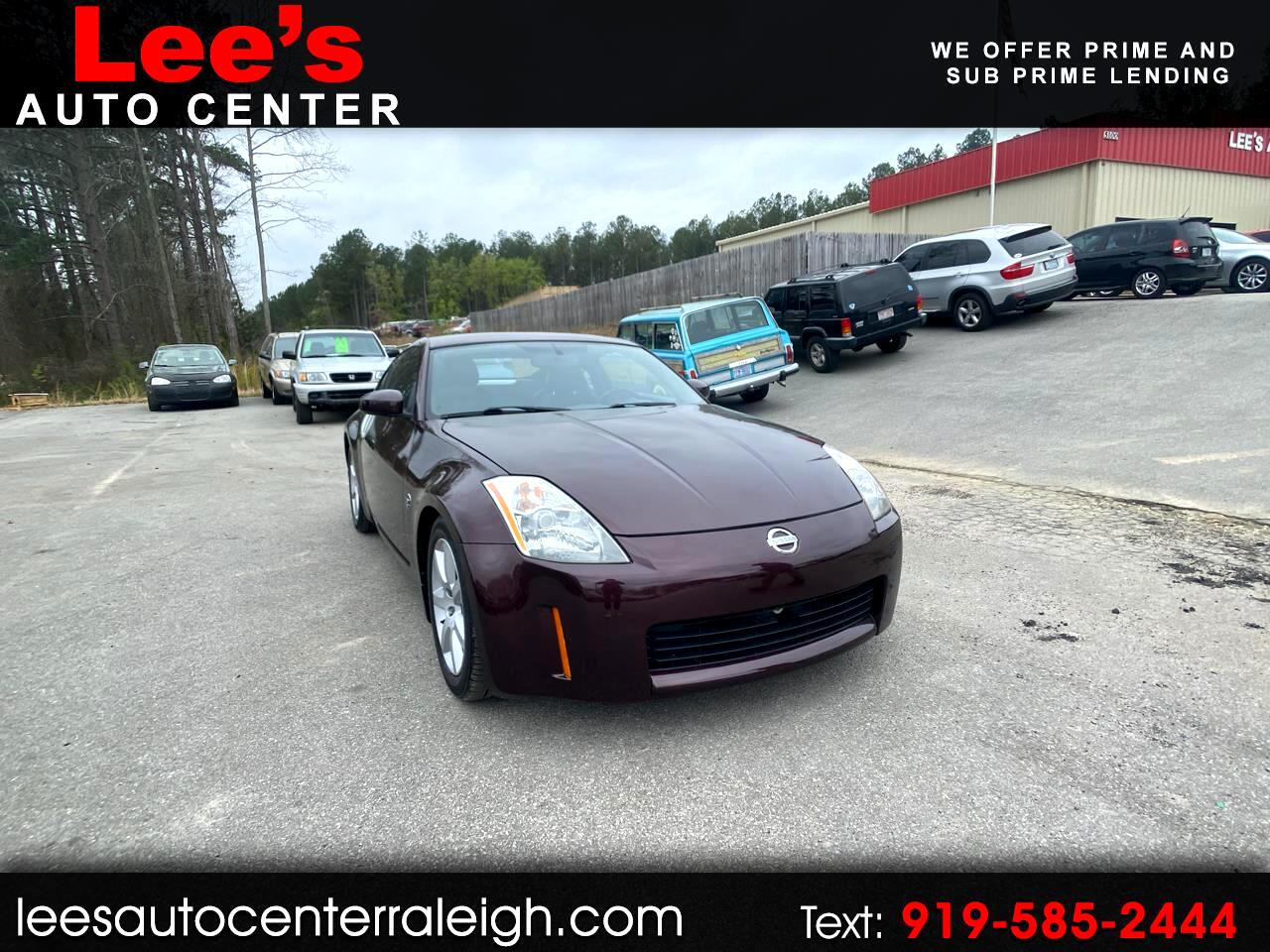 Nissan 350Z 2dr Cpe Auto Touring 2003