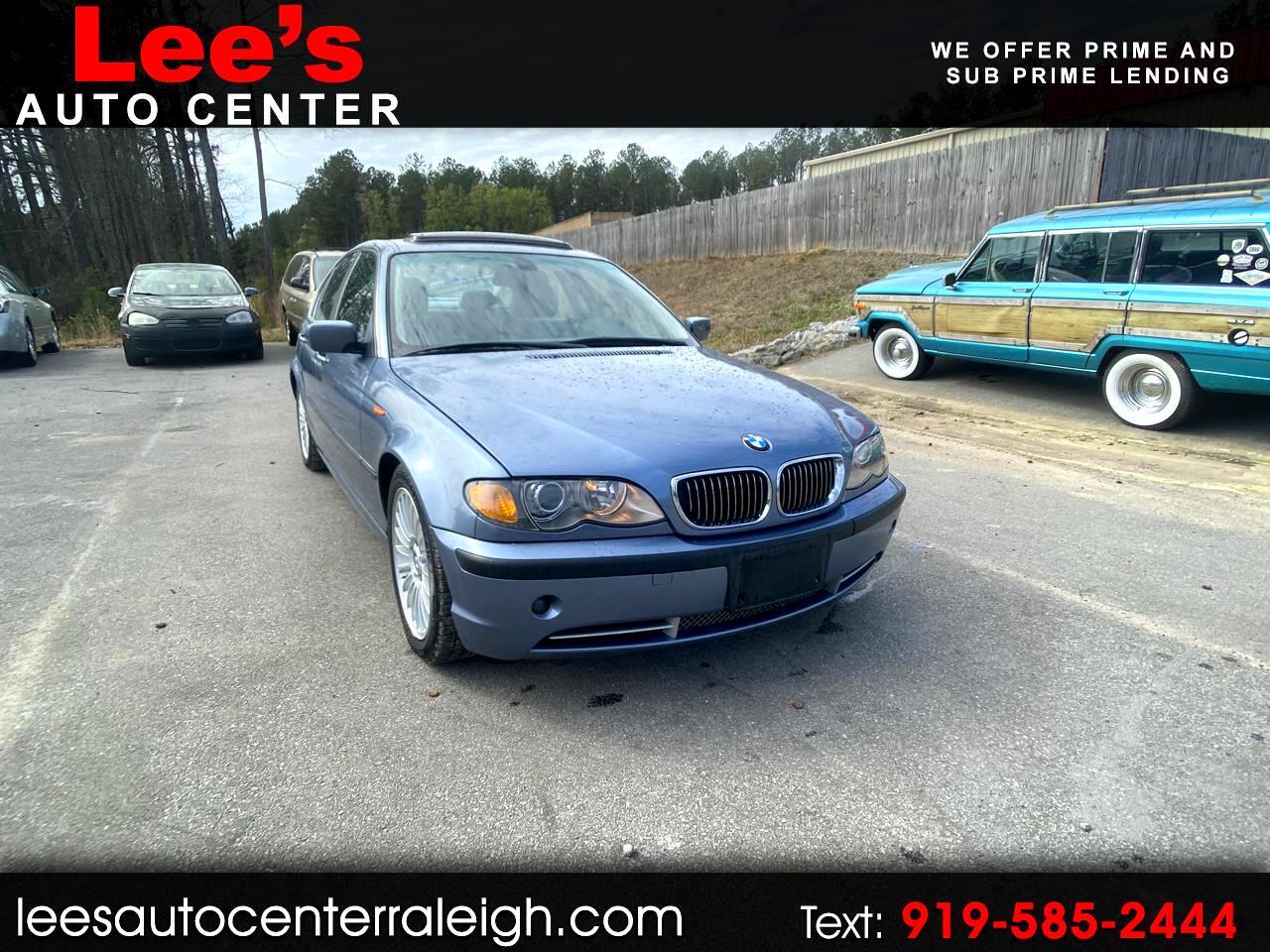 BMW 3 Series 330i 4dr Sdn RWD 2003
