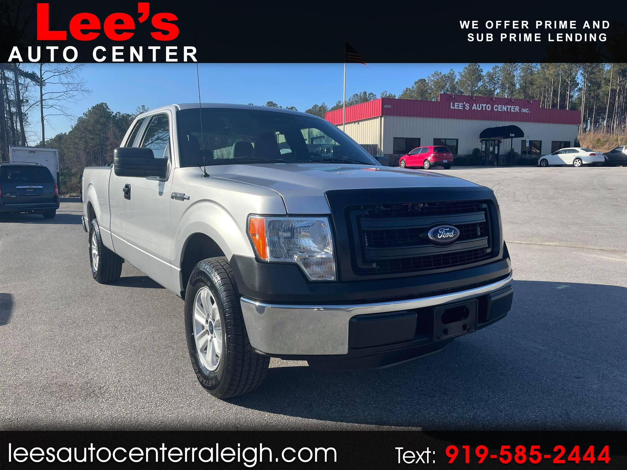 "Ford F-150 2WD SuperCab 145"" XL 2014"