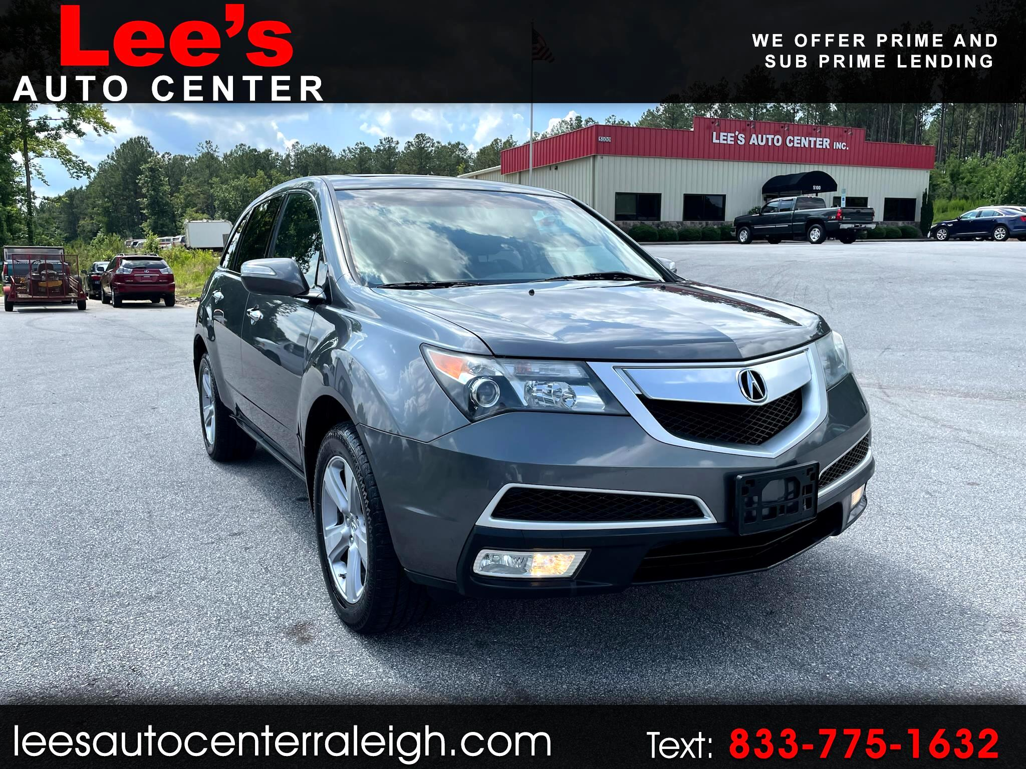 Acura MDX 4WD 4dr 2012