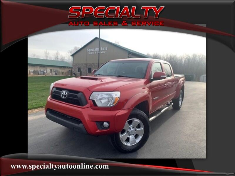 2012 Toyota Tacoma TRD Sport Double Cab 5' Bed V6 4x4 AT (Natl)