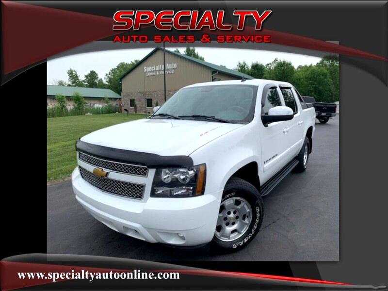 2008 Chevrolet Avalanche 4WD Crew Cab LT