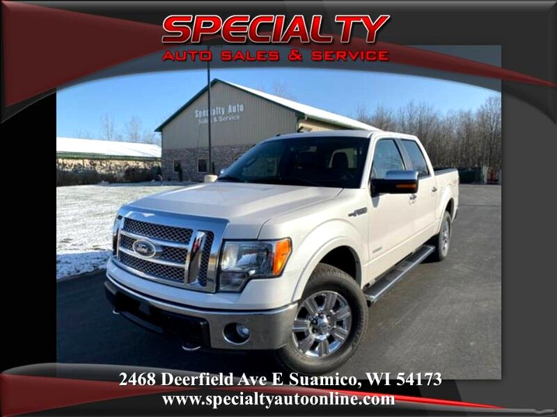 2011 Ford F-150 Lariat SuperCrew 6.5-ft. Bed 4WD