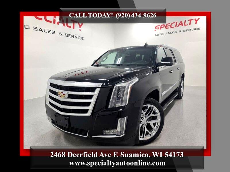 Cadillac Escalade ESV Luxury 4WD 2017