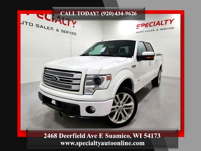 Ford F-150 Limited 4WD SuperCrew 5.5' Box 2013