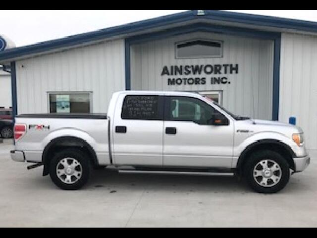 "2010 Ford F-150 4WD SuperCrew 145"" FX4"
