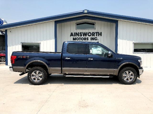"2018 Ford F-150 4WD SuperCrew 157"" Lariat"