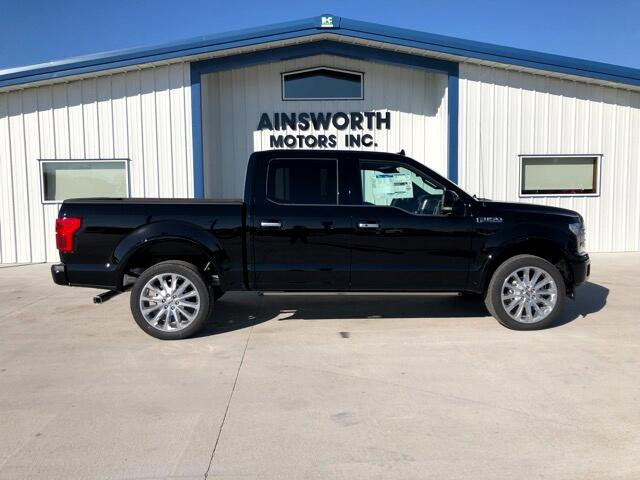 2018 Ford F-150 Limited SuperCrew 5.5-ft. Bed 4WD