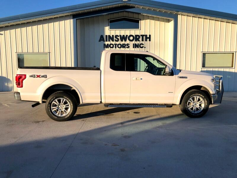 2016 Ford F-150 Lariat SuperCab 6.5-ft. 4WD