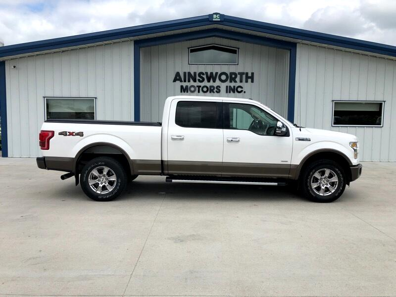 "Ford F-150 4WD SuperCrew 157"" XL 2015"