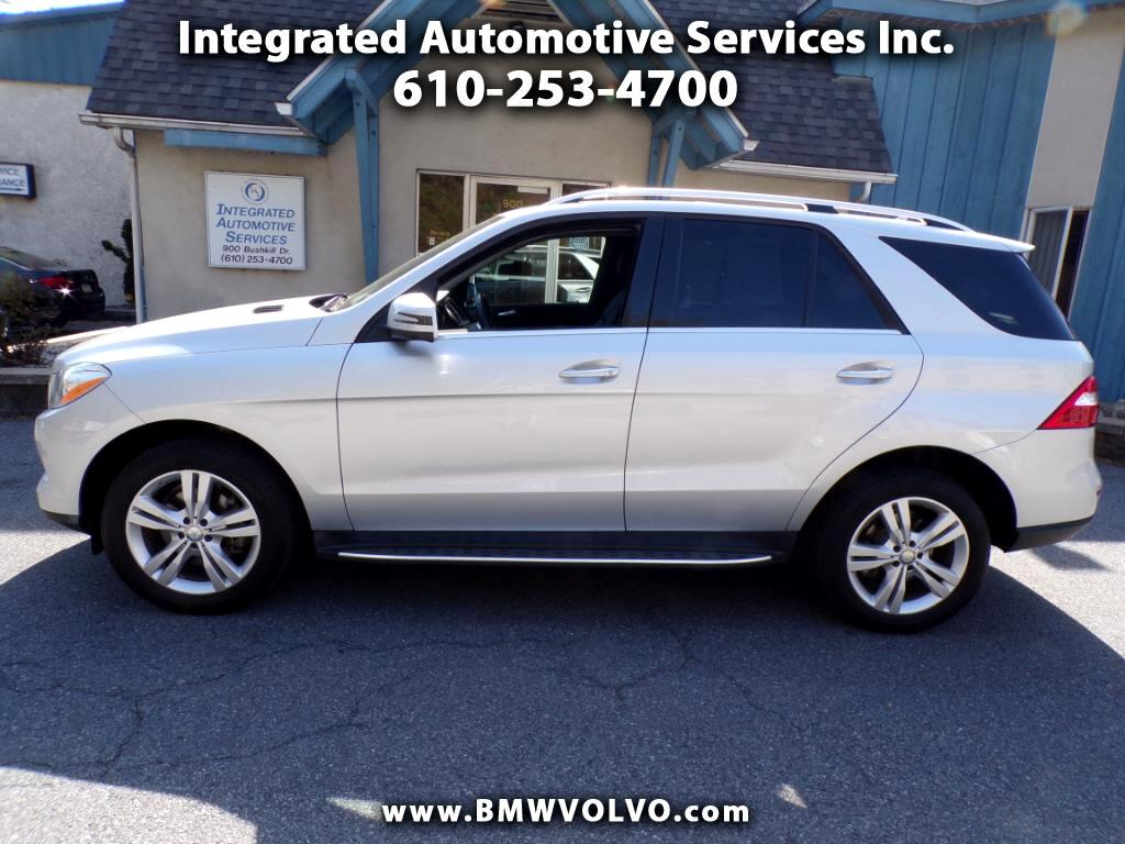 2015 Mercedes-Benz M-Class ML 250 BlueTEC®