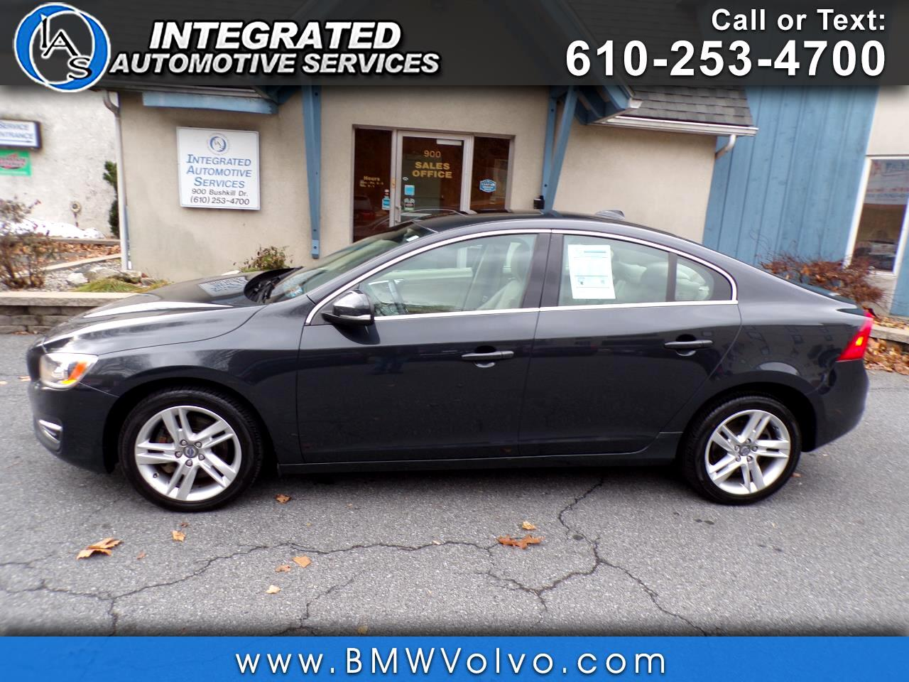 buy here pay here 2014 volvo s60 t5 for sale in easton pa 18042 integrated automotive services inc. Black Bedroom Furniture Sets. Home Design Ideas