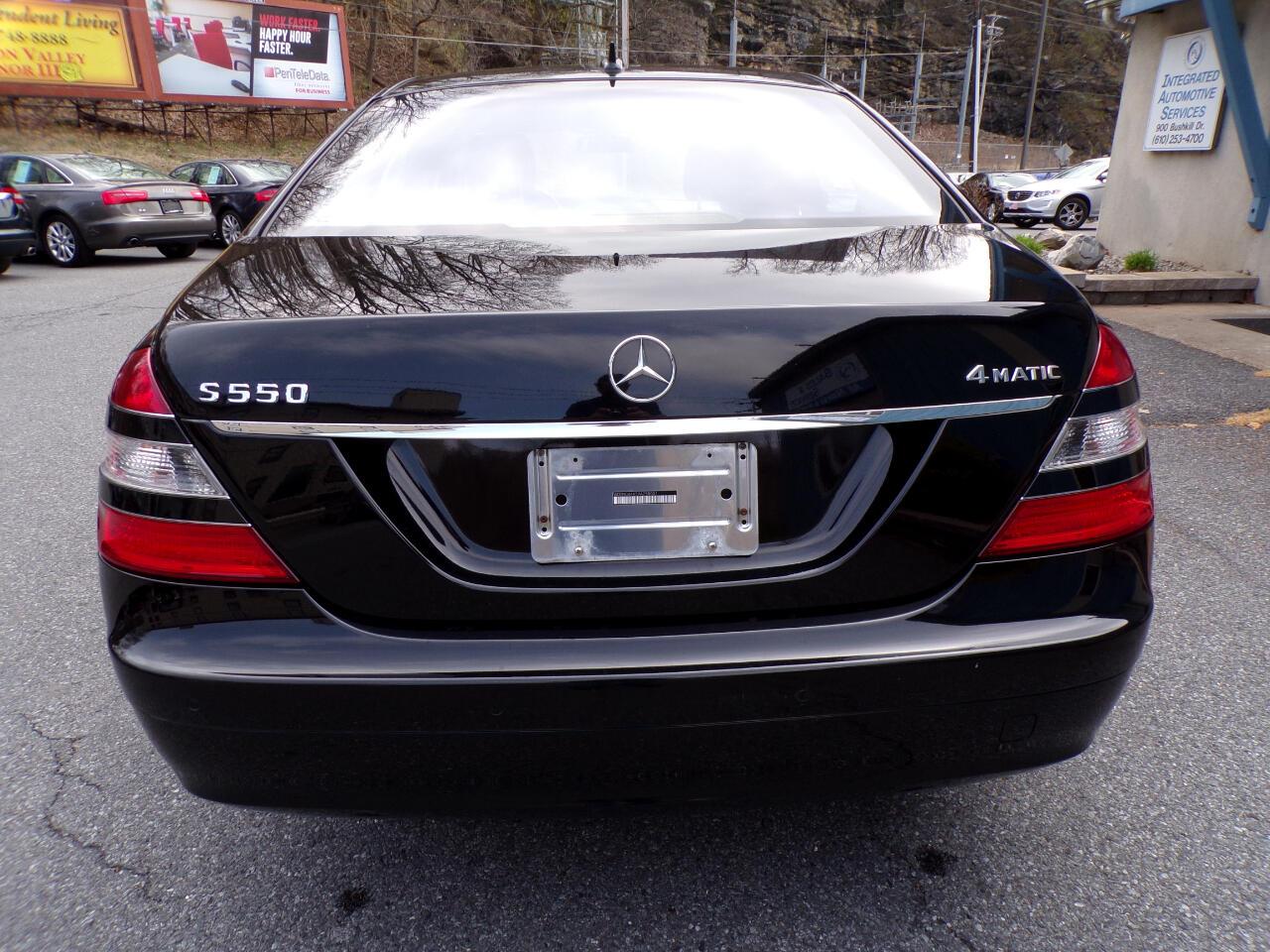 2009 Mercedes-Benz S-Class S 550 4MATIC®