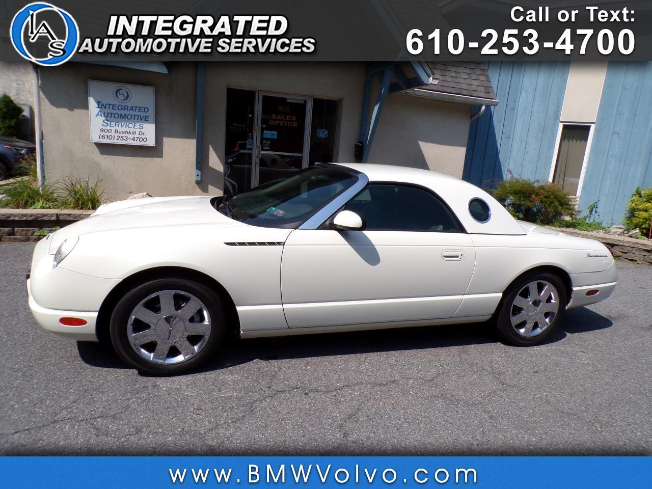 2002 Ford Thunderbird Base