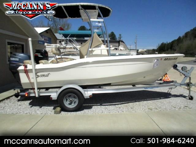 2010 Scout 175 Sportfish Center Console