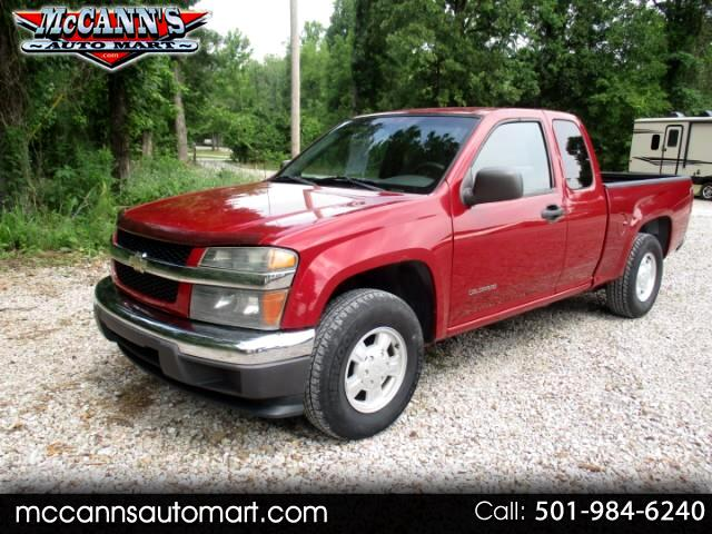 "2004 Chevrolet Colorado Ext Cab 125.9"" WB LS ZQ8"