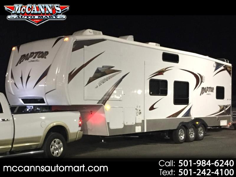 2008 Keystone RV Raptor Toy Hauler 3602RL
