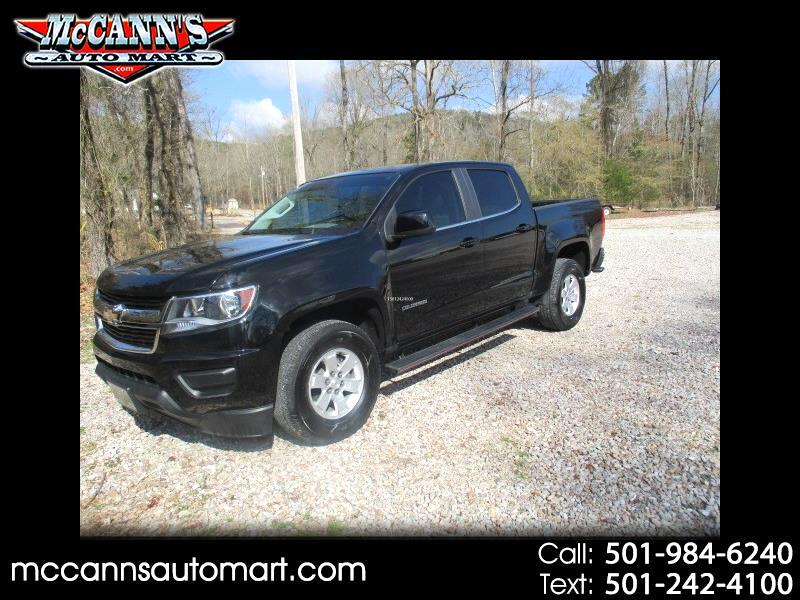 "2016 Chevrolet Colorado 2WD Crew Cab 128.3"" WT"