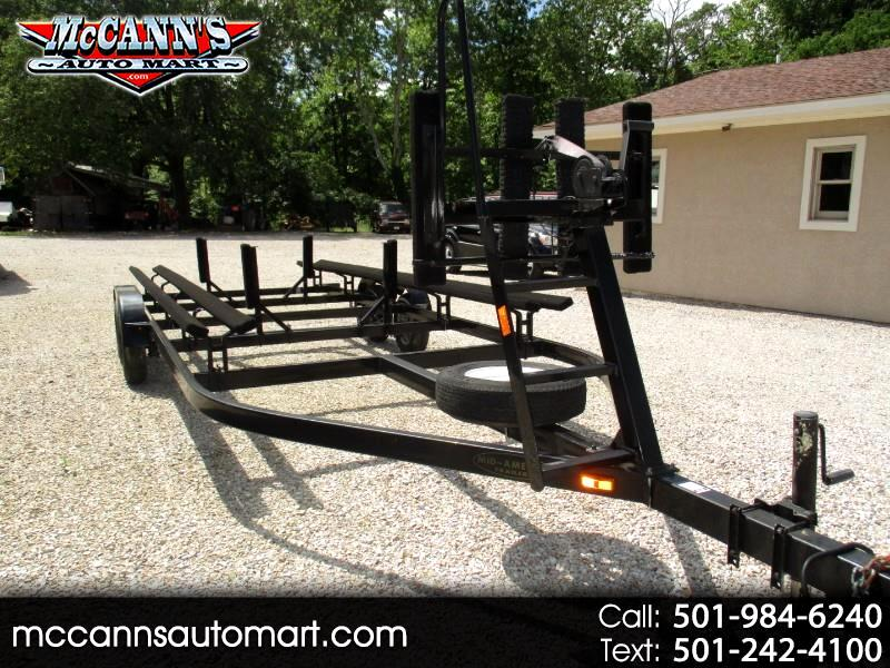 2014 Mid-America Trailer Double Axle Pontoon