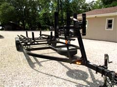 2014 Mid-America Trailer Double Axle Pontoon