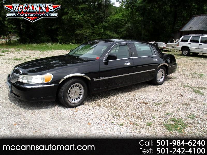 2001 Lincoln Town Car 4dr Sdn Cartier L