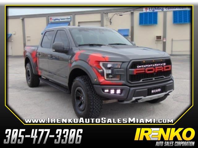 "2018 Ford F-150 4WD SuperCrew 145"" SVT Raptor"
